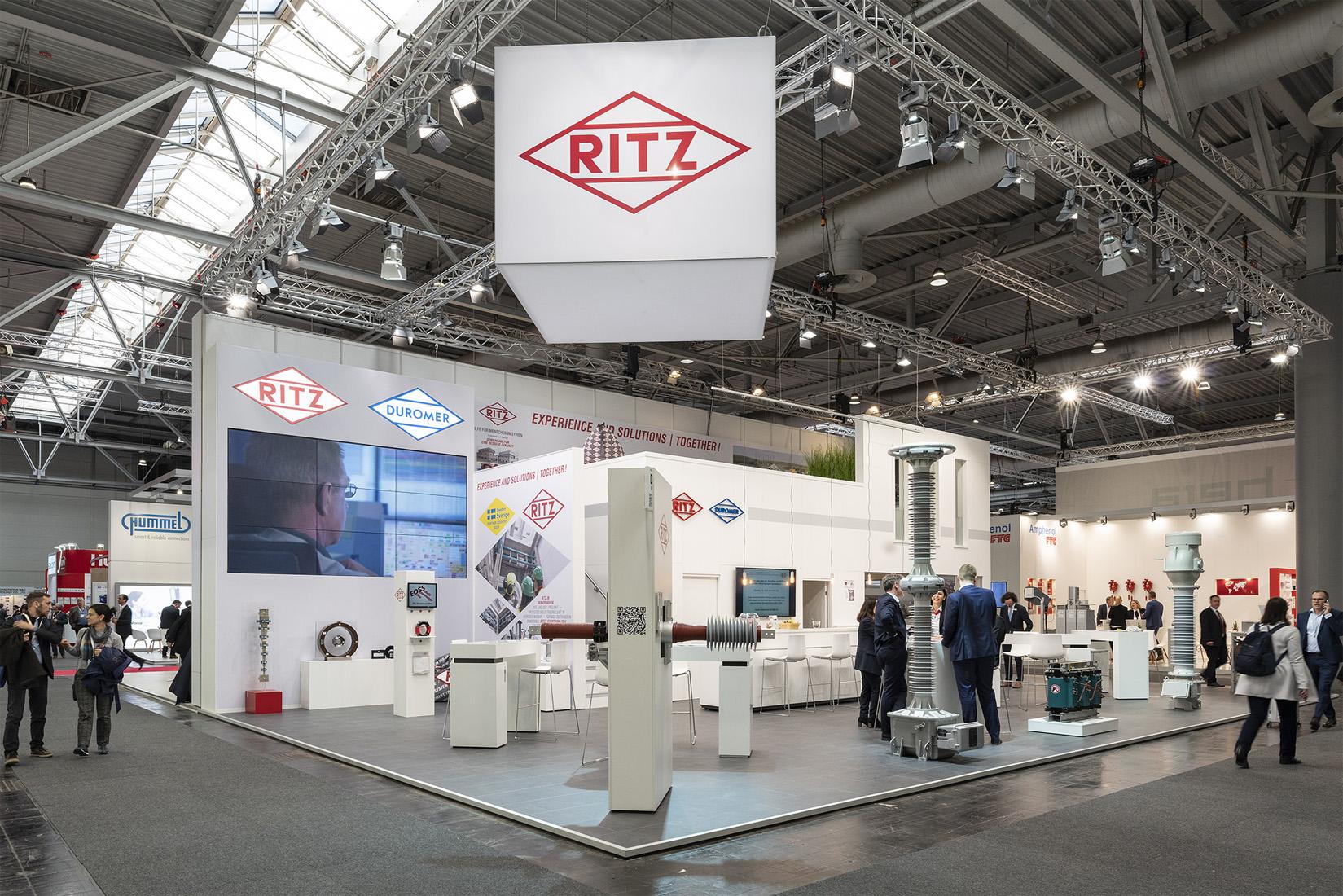 Ritz HMI | Beispiel Standbau | Messebau | Maedebach aus Braunschweig
