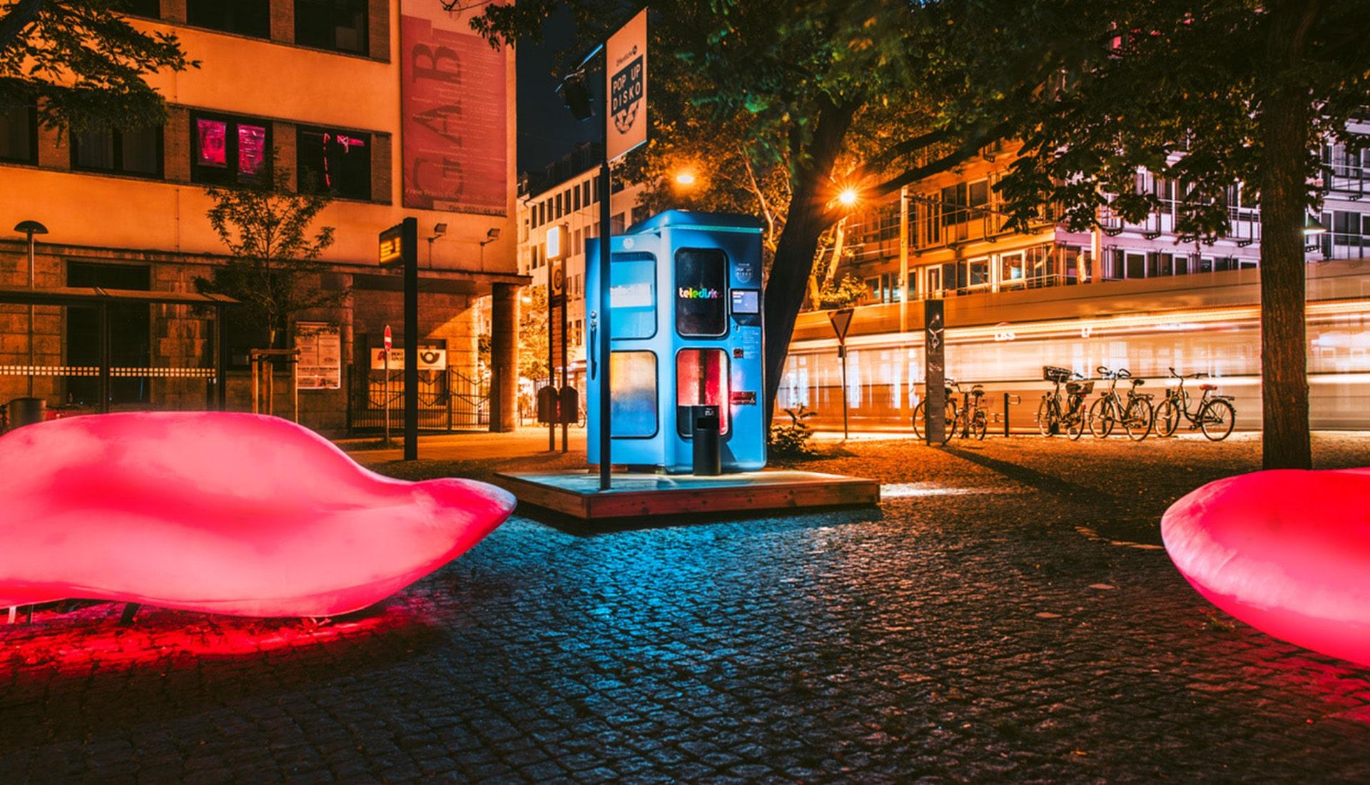 Eventplanung Pop Up Disko   Eventbau   Maedebach Braunschweig  