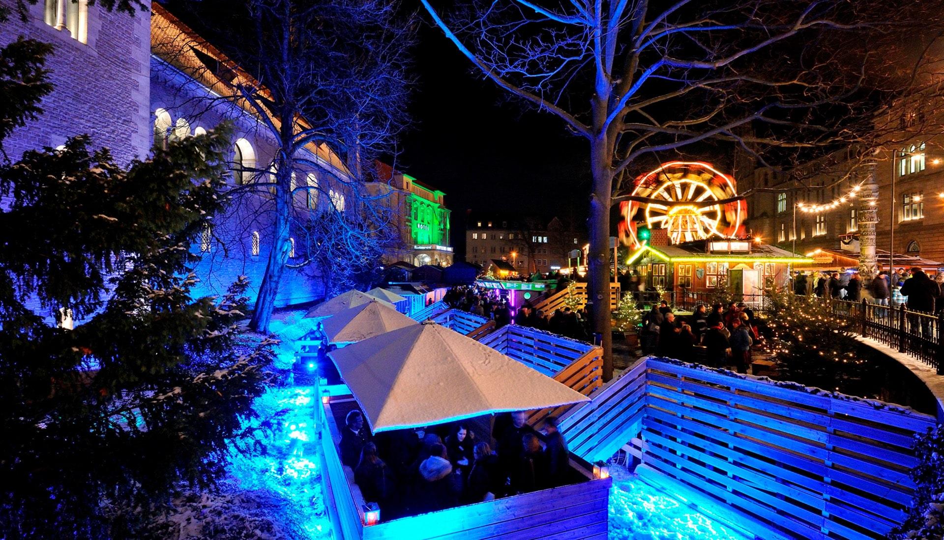 Eventplanung Weihnachtsmarkt Braunschweig Stadt Marketing   Eventbau   Maedebach Braunschweig  