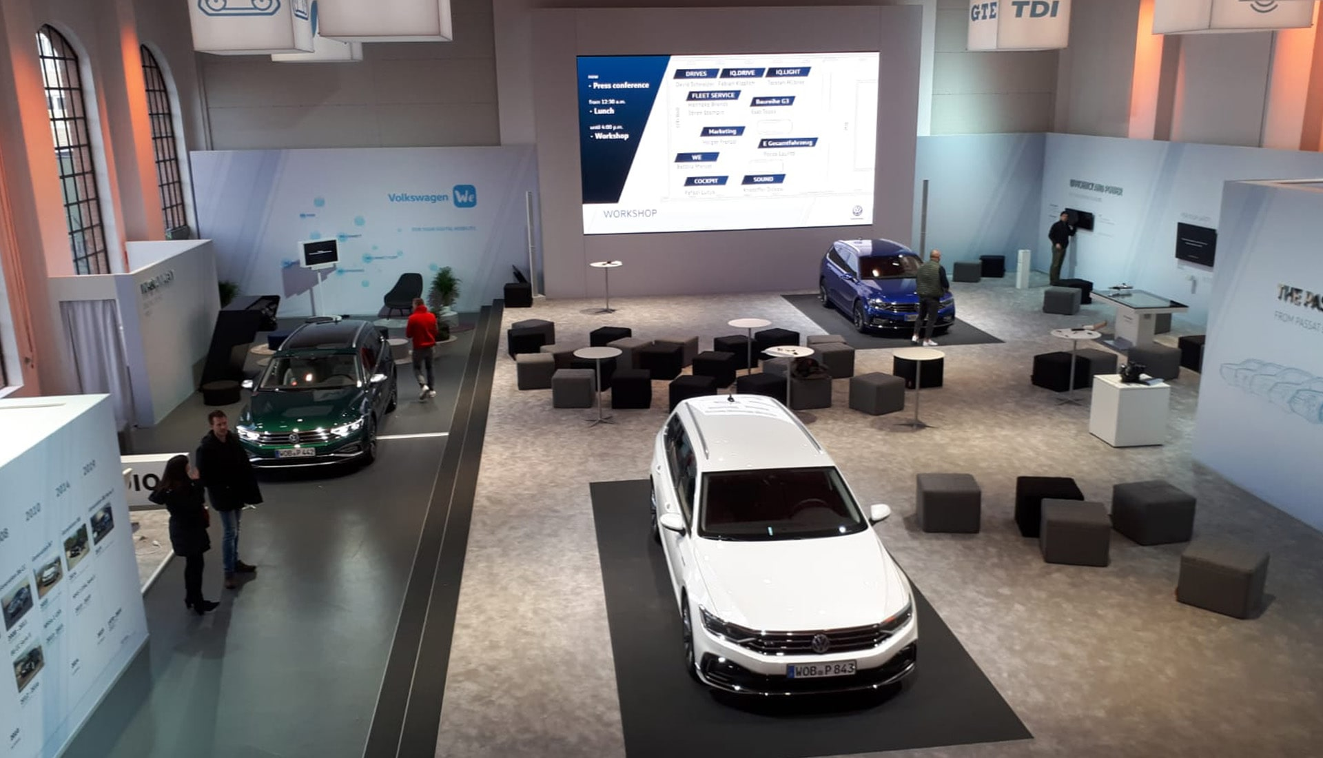 Eventplanung VW Passat   Eventbau   Maedebach Braunschweig  
