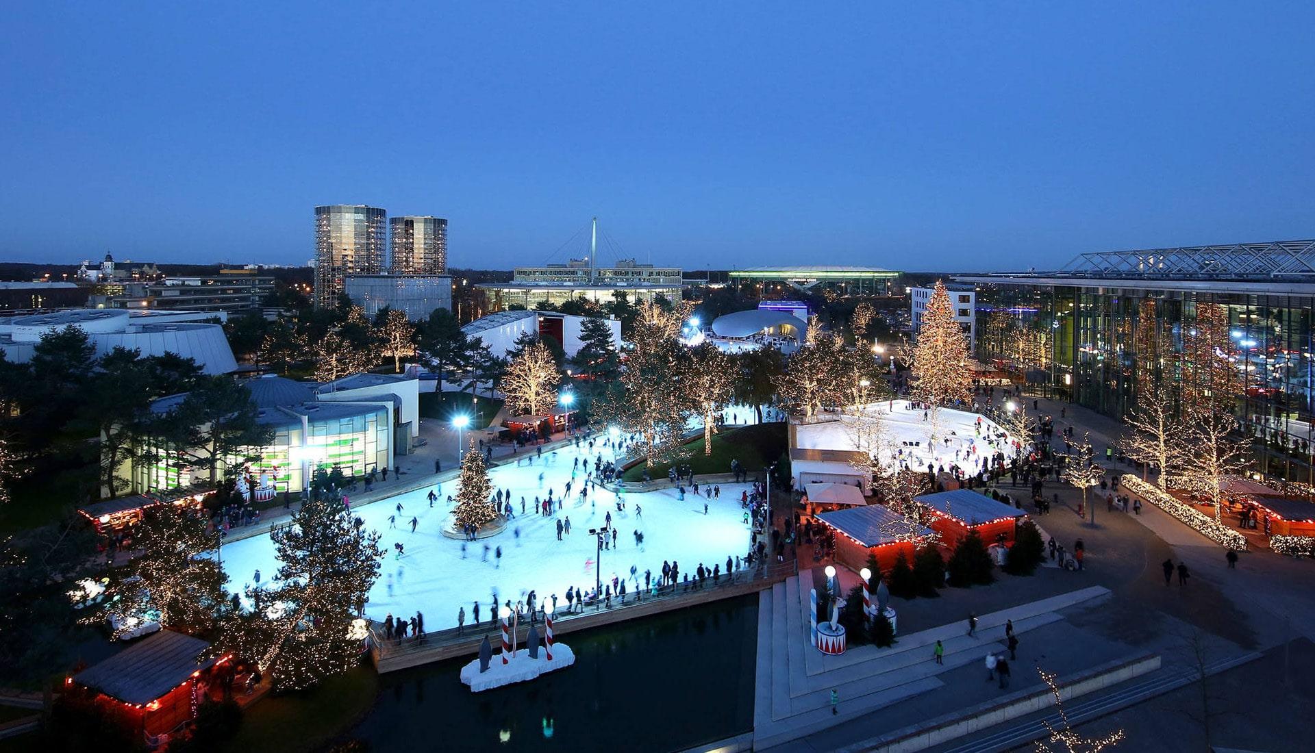 Eventplanung Autostadt im Winter   Eventbau   Maedebach Braunschweig  